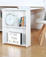 Nordic pull out desk